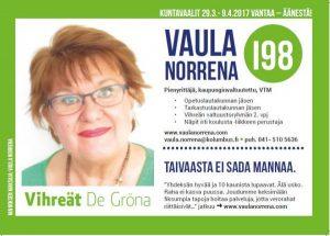 Vaula Norrena vaaliesite 2017 etusivu