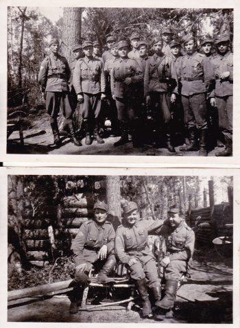 Yrjö Norrena (kuvissa keskellä) JP 5