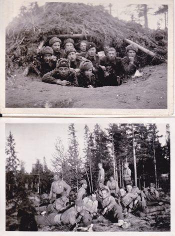 Yrjö Norrena sotakuvia Kannakselta2 JP 5