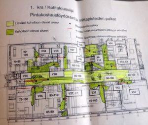 Hämeenkylän koulun kosteusraportti jatkuu