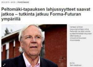 VS juttu Jukka Peltomäestä 26.6.2015
