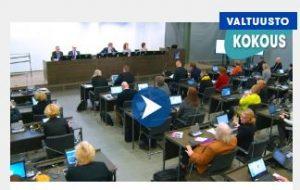 Valtuuston kokous Vantaa 2017