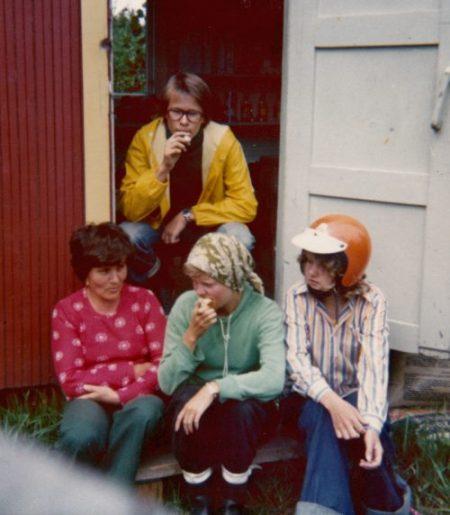 Vaula Norrena kesätyö TVH Kymen piiri 1974-79