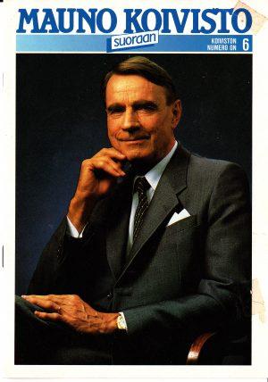 Mauno Koivisto vaaliesite 1988 kansi