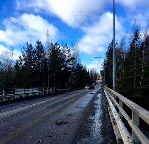 leppäkorventien silta vaarallinen koulutie Vantaa