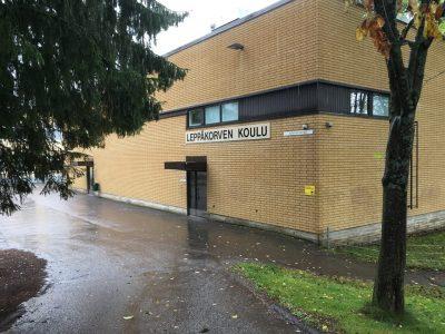 Leppäkorven koulu Vantaa 2017