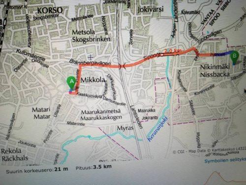 Koulupolku Nikinmäestä Mikkolaan Vantaa