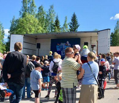 Jokivarsi-päivä Vantaa Nikinmäen koulu 2017