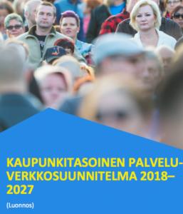 Vantaa palveluverkkosuunitelma kansi 2018