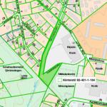 Mikkolan koulu viheralue kartta