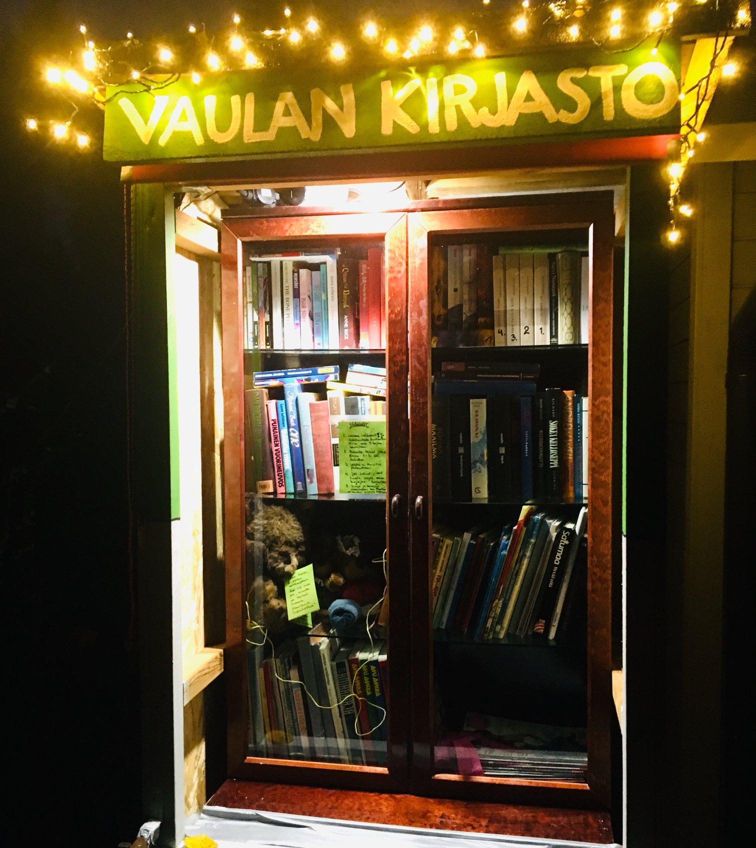 Vaulan kirjasto
