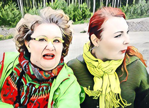 Vaula Norrena ja Eve Rämö