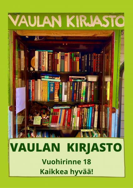 Vaulan kirjasto poster